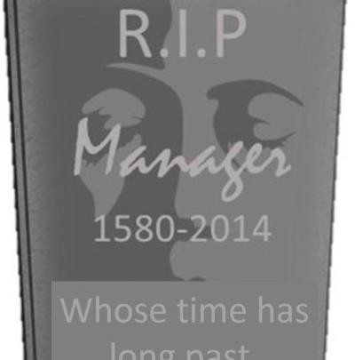 Het einde van de manager?